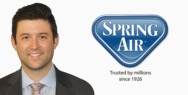 Nick Bates Promoted to President of Spring Air